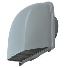 『カード対応OK!』メルコエアテック 換気扇 部材【AT-200SWSK5B】防音形深形フード (ワイド水切タイプ) 縦ギャラリ・網 不燃・耐湿タイプ 防火ダンパー付