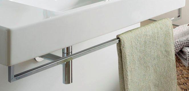 『カード対応OK!』■CERA/セラ 洗面・手洗【DV003035】タオルバー (洗面器用)