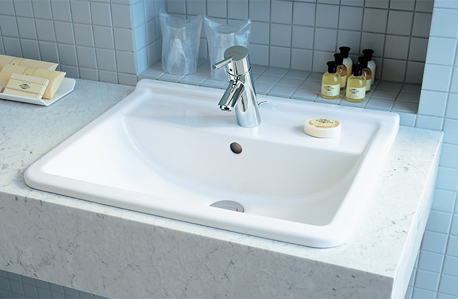 ###■CERA/セラ 洗面・手洗【DV030256-00】スタルク3 (洗面器のみ) 洗面器 ホワイト 560×460