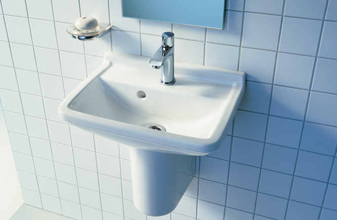『カード対応OK!』■CERA/セラ 洗面・手洗【DV075045-00】スタルク3 (洗面器のみ) 手洗器 ホワイト 450×320