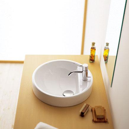 『カード対応OK!』■CERA/セラ 洗面・手洗【FL5055-42】ツインセット (洗面器のみ) 洗面器 ホワイト φ425