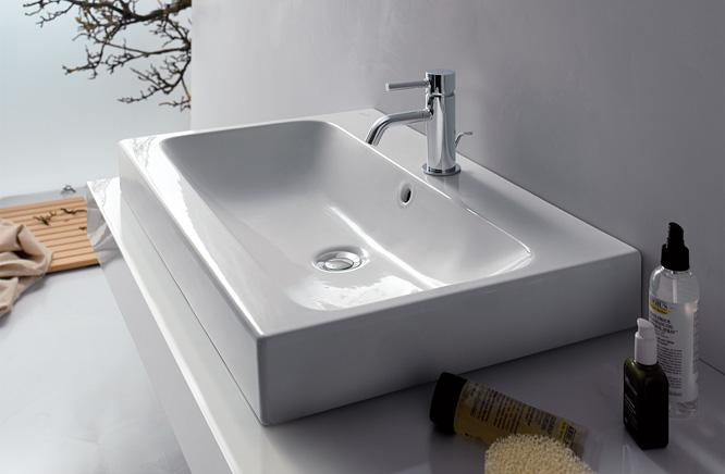 『カード対応OK!』■CERA/セラ 洗面・手洗【KE124075】アイコン (洗面器のみ) 洗面器 ホワイト 750×485