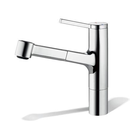 CERA/セラ【KW0191033S】アヴァ キッチン用湯水混合栓 ハンドシャワータイプ クロム (旧品番 KW0191033R)