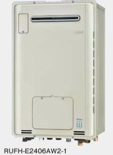 『カード対応OK!』###リンナイ ガス給湯暖房用熱源機【RUFH-E2406SAW2-1】 屋外壁掛型 オート ecoジョーズ 暖房能力14.0kW 床暖房6系統熱動弁内蔵 24号