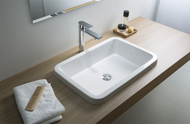 ■CERA/セラ 洗面・手洗【VB416760R】アーキテクチュラ (洗面器のみ) 洗面器 ホワイト 620×425 (旧品番 VB416760)