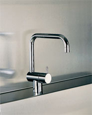 『カード対応OK!』■CERA/セラ【VLKV8CDS-16】ボラ キッチン用立水栓 クロム