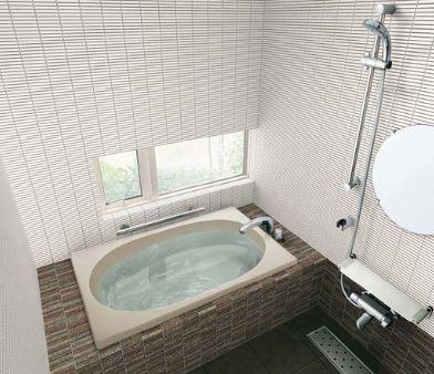 ###INAX/LIXIL グラスティN浴槽【ABND-1200H】サーモバスS エプロン:なし 満水量質量:245L26kg ゴム栓 ハンドグリップ 受注約1週