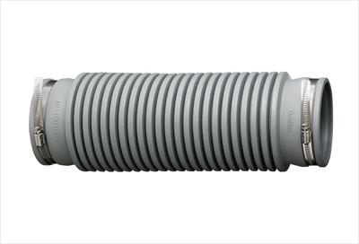 アキレスジョイント【AP-10040RS】排水管用継手 管と管接続用フレキシブルジョイント (合成ゴム(CSM)製)(屋内外兼用) 全長436mm 適用パイプVP/VU100φ