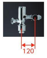 2019年4月発売予定 TOTO フラッシュバルブ本体【TV652S】押しボタン式 再生水仕様