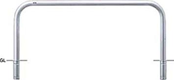 ####u.サンポール/SUNPOLE【AA-8S20-800】アーチ ステンレス製 φ76.3 W2000 H800 差込式 受注約3週