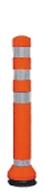 ####u.サンポール/SUNPOLE【RC-65(R)】ラバーコーン オレンジ φ80 H675 受注約3週