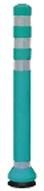 ####u.サンポール/SUNPOLE【RC-80(G)】ラバーコーン グリーン φ80 H825 受注約3週