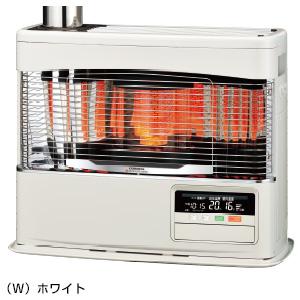 ###コロナ 暖房機器【UH-7719PK(W)】ホワイト 寒冷地用大型ストーブ PKシリーズ ポット式輻射+床暖 木造20畳・コンクリート32畳まで