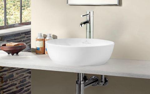 ###リラインス 置き型手洗器【4179.43.01】(手洗器のみ) ビレロイ&ボッホ φ430 ホワイトアルペン色 アルティス