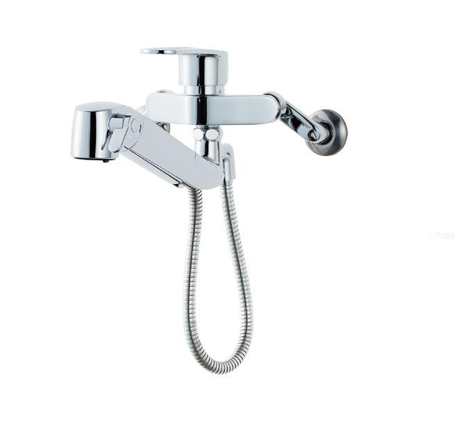 INAX/LIXIL オールインワン浄水栓【JF-AH437SY(JW)】壁付タイプ 逆止弁
