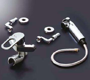 INAX/LIXIL 取替用水栓【JF-AH437SYZ(JW)】浄水器内蔵シングルレバー混合水栓 (簡易施工タイプ)