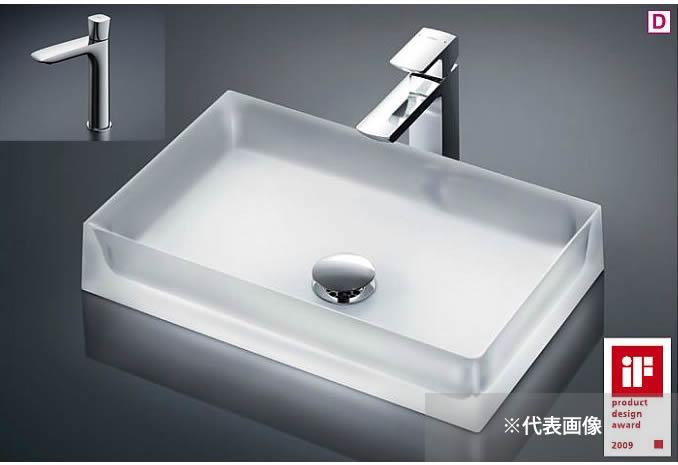 ###TOTO カウンター式洗面器 セット品番【MR710+TLG04102J】ベッセル式 クリスタルボウル 立水栓 床排水金具(Sトラップ)