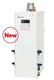 ###ノーリツ 石油ふろ給湯器【OTQ-4705AF BL】(リモコン付) 設置フリー型 フルオート 直圧 角(上方排気) 屋内・屋外兼用据置形 (旧品番OTQ-4704AF BL)