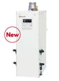 ###ノーリツ 石油ふろ給湯器【OTQ-4705SAF BL】(リモコン付) 設置フリー型 オート 直圧 角(上方排気) 屋内・屋外兼用据置形 (旧品番OTQ-4704SAF BL)