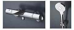 TOTO 浴室用水栓【TBV01S02J】 壁付サーモスタット コンフォートウエーブ