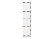 ####クリナップ Tiaris(ティアリス)【ANTU025WK R】トールキャビネット(上台) (右開き) 片面収納タイプ 間口25cm スタンダード 木目(艶消し)