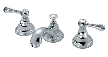 ■CERA/セラ 洗面・手洗【CET7102T】セラオリジナルコレクション 混合栓 湯水混合栓 クロム (旧品番 CET7102S)