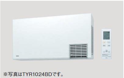 TOTO 洗面所暖房機【TYR1024BD 】(AC200V) ワイヤレスリモコン(赤外線式)付き・予約運転機能付き