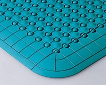 ####u.テラモト 環境美化用品【MR-085-080-1】抗菌フミンゴ(屋内用)グリーン (1平方メートル)