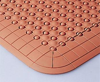 ####u.テラモト 環境美化用品【MR-085-080-5】抗菌フミンゴ(屋内用)オレンジ (1平方メートル)