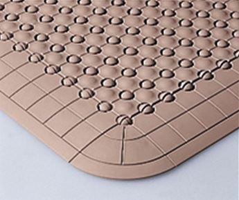 ####u.テラモト 環境美化用品【MR-085-080-6】抗菌フミンゴ(屋内用)ベージュ (1平方メートル)