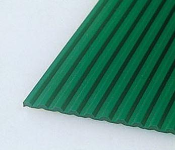 ####u.テラモト 環境美化用品【MR-141-056-1】ビニール長マット B山 緑 91cm×20m