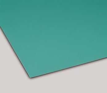 ####u.テラモト 環境美化用品【MR-144-110-1】カラー導電性ゴムシート 3mm厚 緑 1m×20m