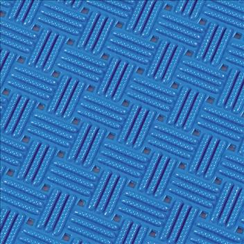 ####u.テラモト 環境美化用品【MR-159-000-3】ダイヤマットグリッド 青 92cm×10m