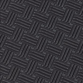 ####u.テラモト 環境美化用品【MR-159-000-7】ダイヤマットグリッド 黒 92cm×10m