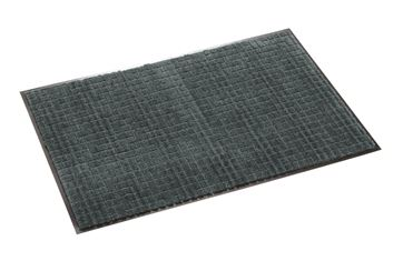####u.テラモト 環境美化用品【MR-033-264-5】雨天用マット ネオレイン軽量 グレー 90cm巾 (1m) 受注生産