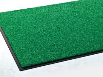 ####u.テラモト 環境美化用品【MR-034-252-1】ニュートレビアン 緑 1500×2400