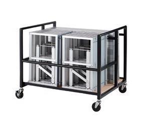 安いそれに目立つ ####u.テラモト 環境美化用品【OT-623-010-0】収納台車 NDS1:クローバー資材館-DIY・工具