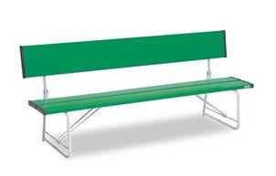 ####u.テラモト 環境美化用品【BC-300-218-1】コマーシャルベンチ1800 折畳 緑
