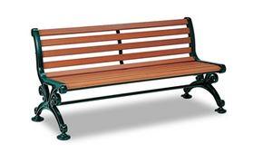 ####u.テラモト 環境美化用品【BC-303-115-1】ベンチスワール 1500 肘なし 受注生産