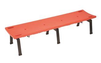 ####u.テラモト 環境美化用品【BC-309-118-5】レスキューボードベンチ レスキューオレンジ