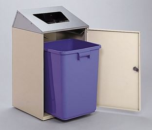 ####u.テラモト 環境美化用品【DS-186-512-6】ニートSTF(ステン) もえないゴミ用 受注生産