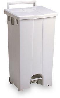 ####u.テラモト 環境美化用品【DS-224-309-8】ボックスカート 90 白/白 90リットル 受注生産