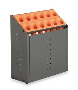 ####u.テラモト 環境美化用品【UB-285-212-7】オブリークアーバン C12 オレンジ