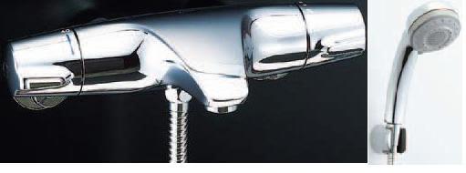 πINAX【BF-J147TSB】 ジェエラ サーモスタット付シャワーバス水栓 (旧品番 BF-J146TM)