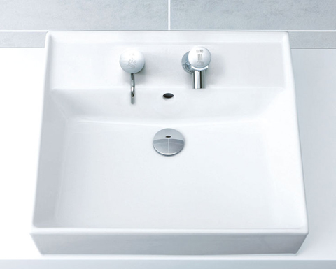 『カード対応OK!』INAX 角形洗面器【L-555FC】洗面器本体のみ