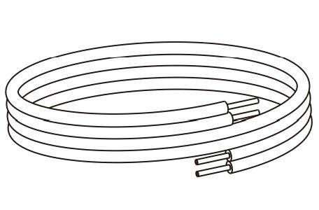 ☆☆USA 新作からSALEアイテム等お得な商品 満載 P10 5 ###コロナ 温水ルームヒーター部材 戸建用 USA-P10-5 架橋ポリパックチューブ10 保温材10mm 在庫限り 5m