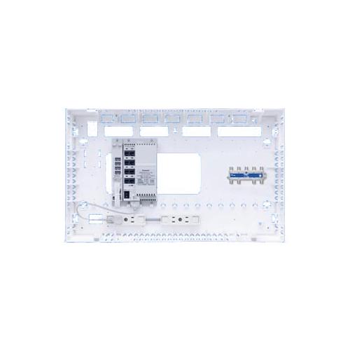 パナソニック 配線器具【WTJ4361】マルチメディアポートALLギガ 8分配器(1端子電流通過形)内蔵
