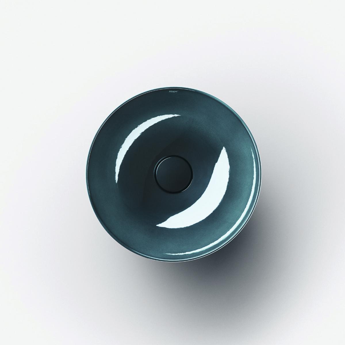 2021新作モデル リラインス 置き型手洗器【SB.AQUA360.IG】(手洗器のみ) アラペ ディープインディゴ(.IG) オーバーフローなし, 下地町 c743cead