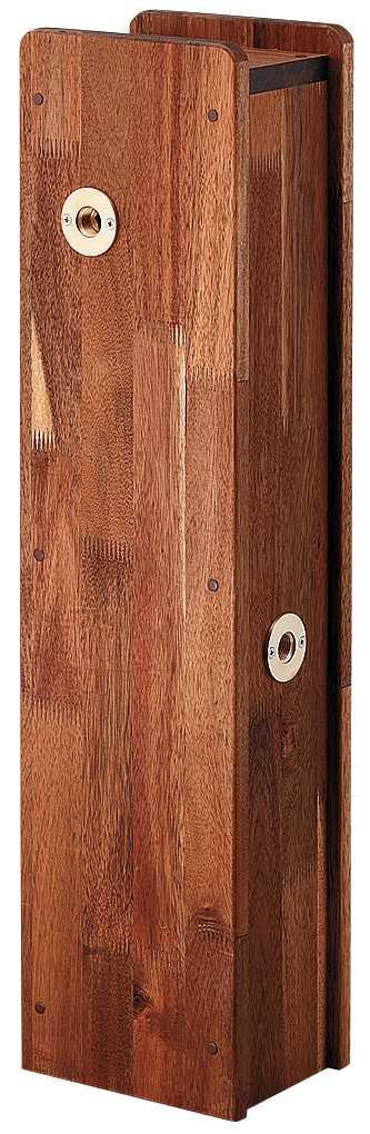 『カード対応OK!』∬∬カクダイ【624-138】角水栓柱用化粧カバー(木)