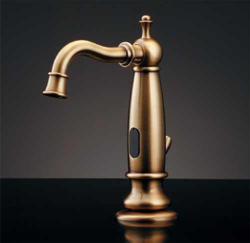 カクダイ【713-350-AB】センサー水栓(オールドブラス)